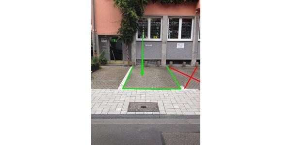 Parkplatz Vogteistraße 18 Köln