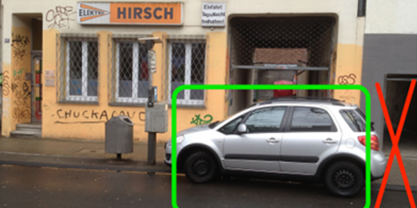 Parkplatz Moselstraße 68 Köln