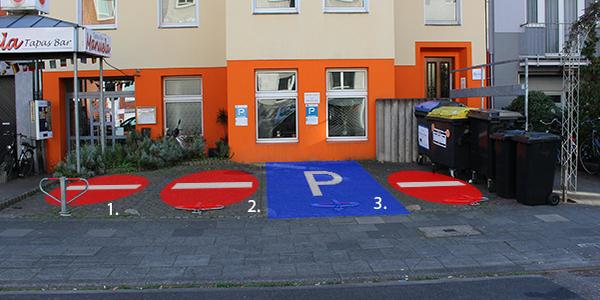 Parkplatz Mozartstraße 9 Köln