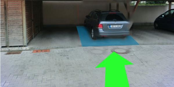 Parkplatz Kirschbaumweg 12 Nürnberg