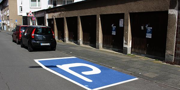 Parkplatz Düppelstraße 20-22 Köln
