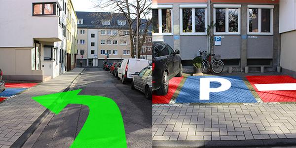 Parkplatz Vogteistraße 12 Köln