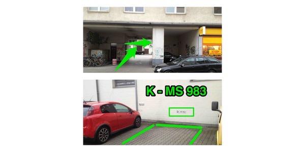 Parkplatz Zülpicher Straße  222 50937