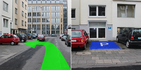 Parkplatz Werderstraße 35 Köln