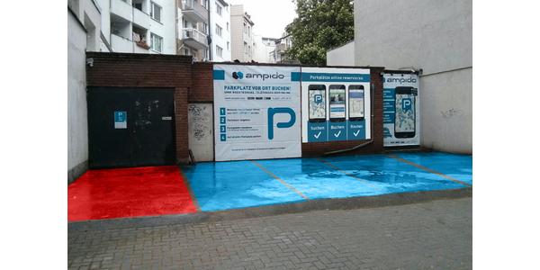 Parkplatz Zülpicher Platz 1 Köln