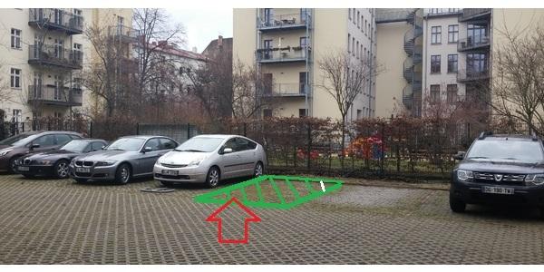 Parkplatz Invalidenstraße 142 Berlin