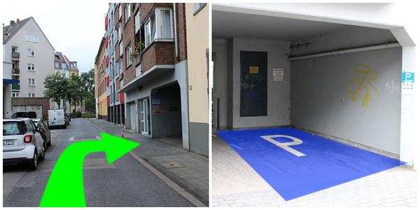 Parkplatz Seyengasse 3A Köln