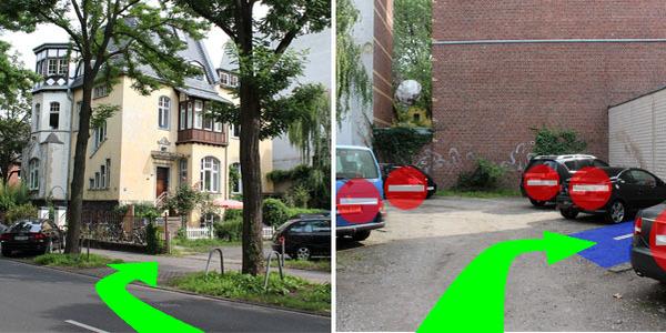 Parkplatz Kerpener Straße 25 Köln