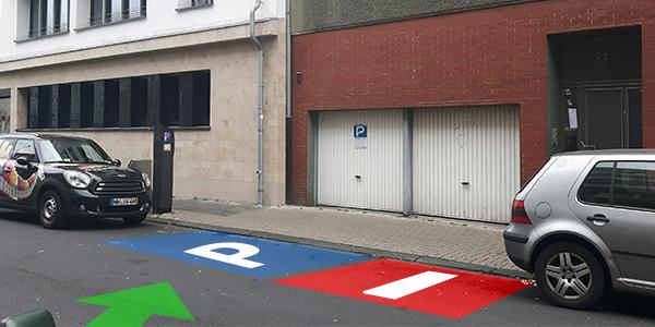 Parkplatz Domstraße 92 Köln