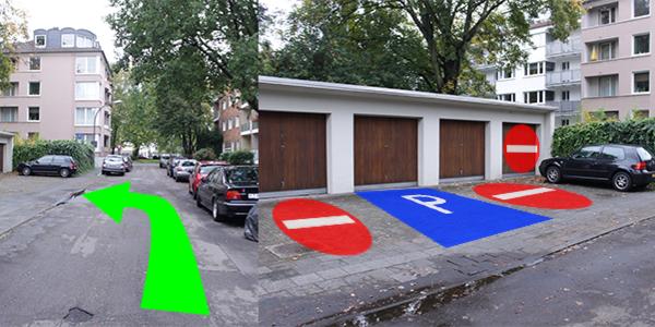Parkplatz Bachemer Straße 8 Köln