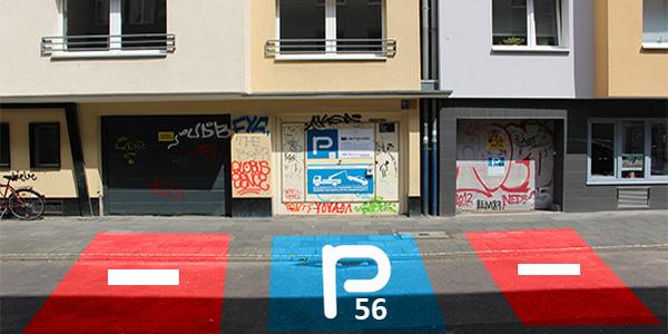 Parkplatz Mozartstraße 56 Köln