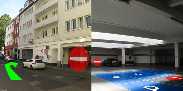 Parkplatz Waisenhausgasse 25 Köln