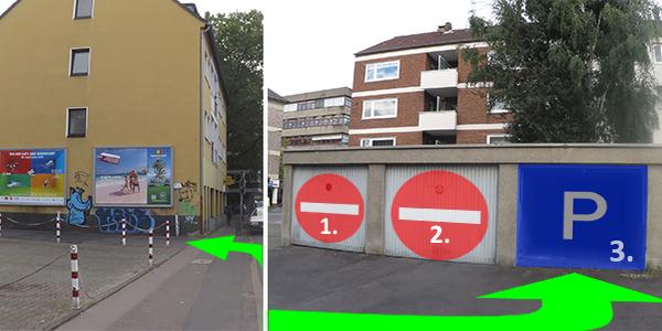 Parkplatz Bayardsgasse 3 Köln