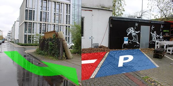 Parkplatz Greifweg 176 Düsseldorf