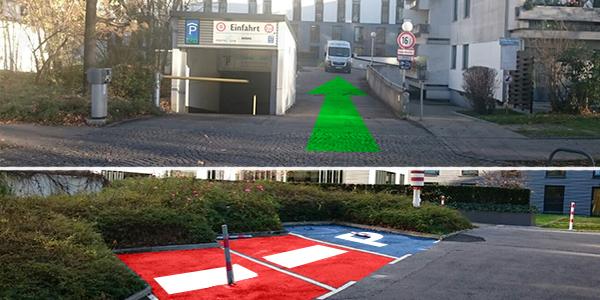 Parkplatz Hochstraße 19 München
