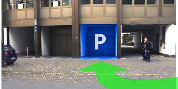 Parkplatz Karlstraße 44 München