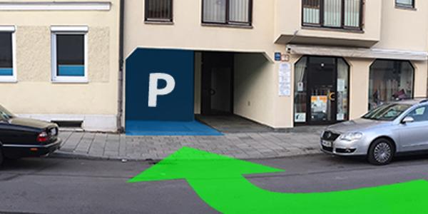Parkplatz Karlstraße 114 München