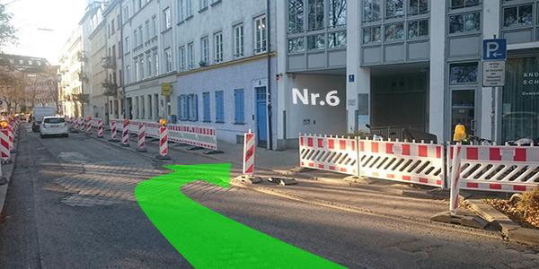 Parkplatz Auenstraße 6 München