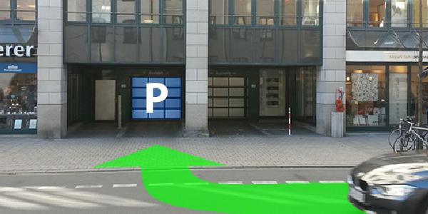 Parkplatz Oberanger 6 München