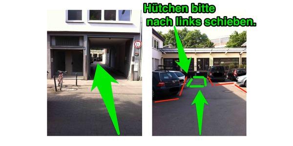 Parkplatz Rolandstraße 63 Köln