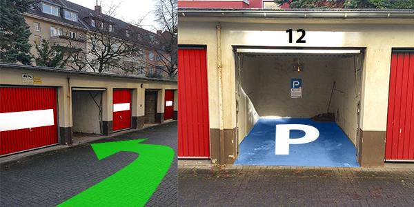 Parkplatz Deutz-Kalker Straße 18 Köln