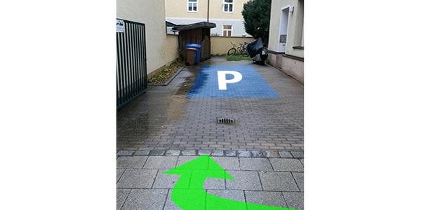 Parkplatz Kazmairstraße 36 München