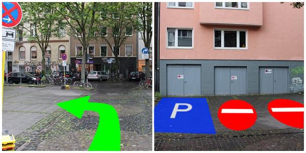 Parkplatz Genter Straße 33 Köln