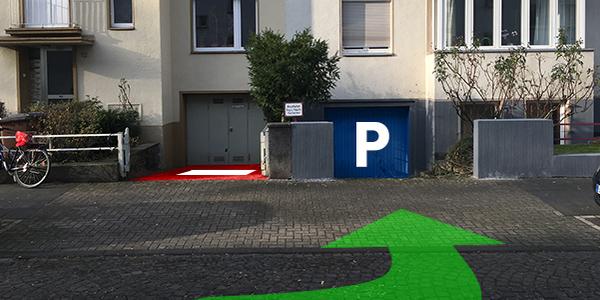 Parkplatz Einhardstraße 10 Köln