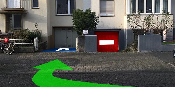 Parkplatz Einhardstraße 12 Köln