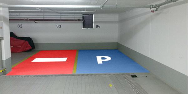 Parkplatz Speyerer Straße 14 München