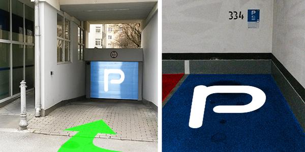 Parkplatz Barer Straße 32 München