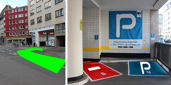 Parkplatz Bismarckstraße 23 Köln