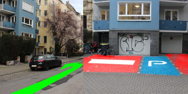 Parkplatz Lütticher Straße 50 Köln