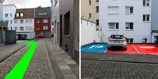 Parkplatz Hochpfortenbüchel 12 Köln