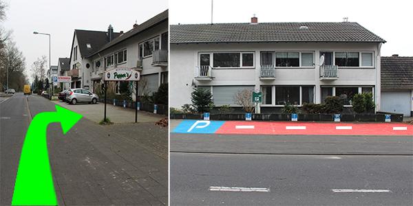 Parkplatz Grengeler Mauspfad 147 Köln