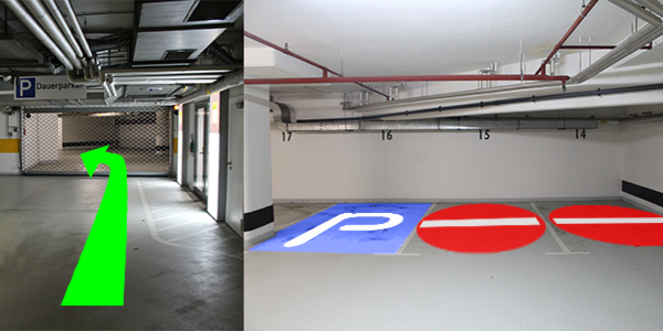 Parkplatz Luxemburger Straße 169 Köln