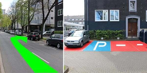 Parkplatz Sachsenring 51 Köln