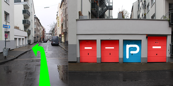 Parkplatz Rubensstraße 39 Köln