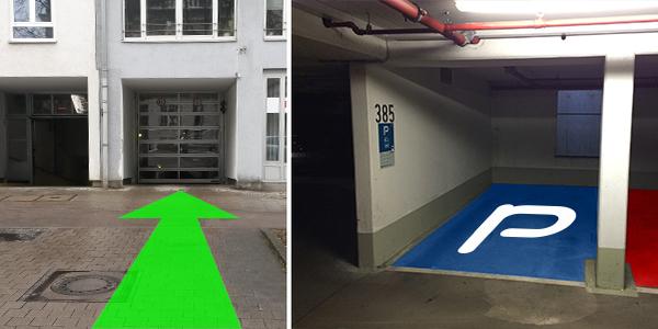 Parkplatz Balanstraße 30 München