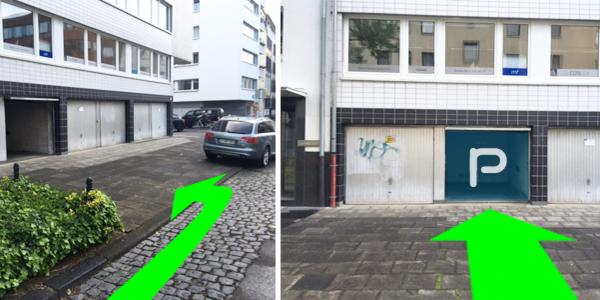 Parkplatz Schallstraße 12 Köln
