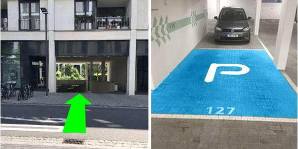 Parkplatz Kurfürsten-Anlage 17 Heidelberg
