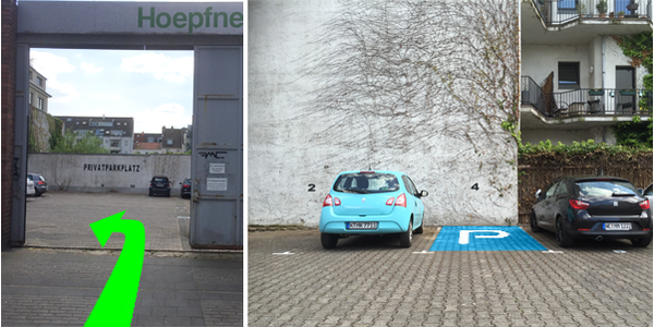 Parkplatz Ägidiusstraße 29 Köln
