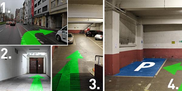 Parkplatz Hansaring 139 Köln