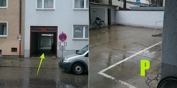 Parkplatz Schellingstraße 89 München