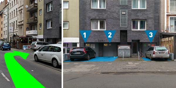 Parkplatz Dasselstraße 2 Köln