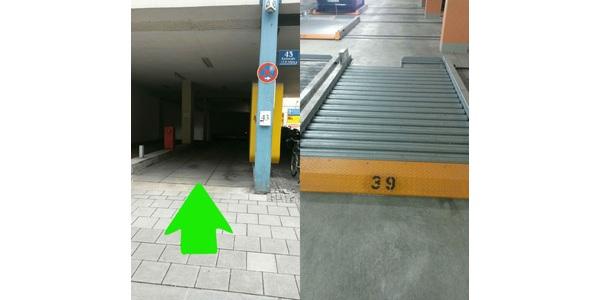 Parkplatz Karlstraße 45 München