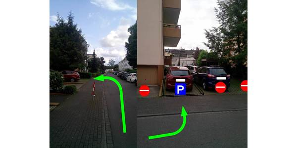 Parkplatz Kolberger Straße 108 Leverkusen