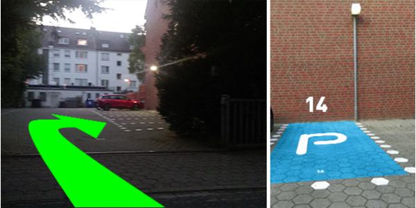 Parkplatz Knutzenweg 14 Hamburg
