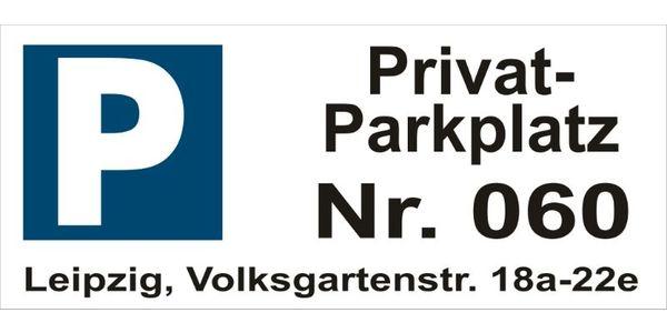 Parkplatz Volksgartenstraße 22E Leipzig