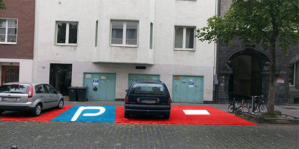 Parkplatz Balthasarstraße 85 Köln